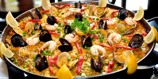 Gallery images and information: paella pan